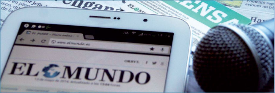 Máster Oficial en Periodismo El Mundo