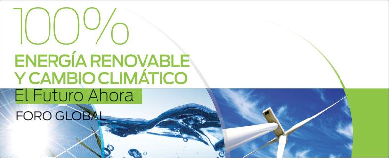 100% Energía Renovable y Cambio Climático