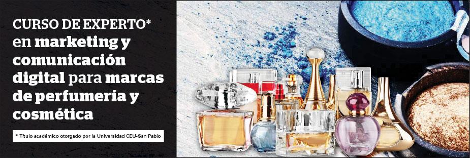 Curso de Experto en Marketing y Comunicación DIGITAL para marcas de perfumería y cosmética
