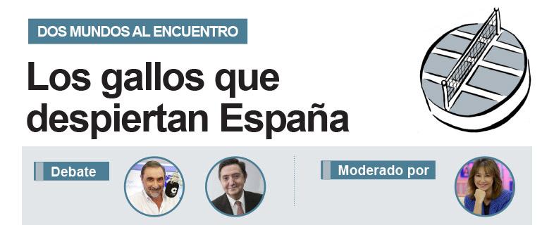 Los gallos que despiertan España