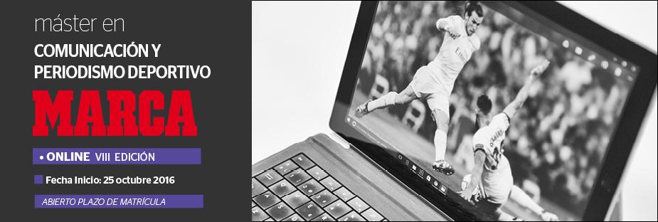 Máster En Comunicación Y Periodismo Deportivo MARCA (Online) - 2º Plazo del Máster