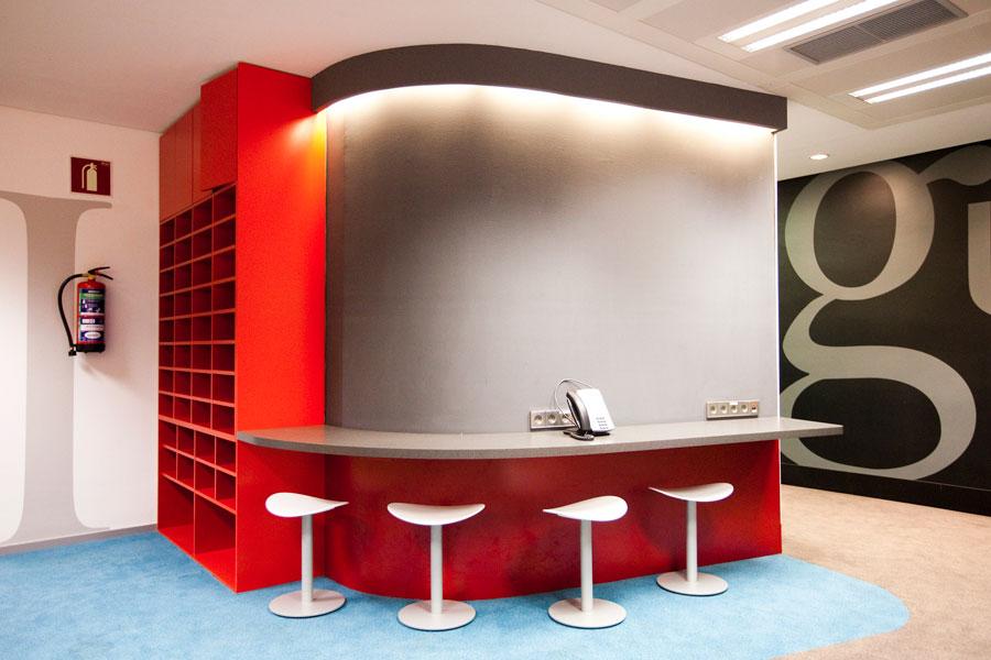 Instalaciones de la Escuela de Periodismo y Comunicación Unidad Editorial
