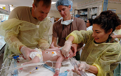 Soporte vital avanzado en el paciente pedriátrico y neonatal