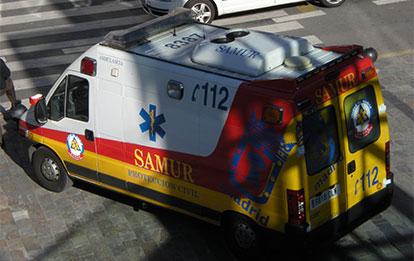Transporte primario urgente y del paciente crítico