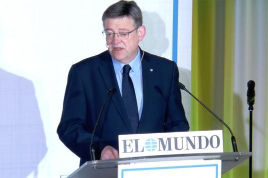 Ximo Puig en el foro TRIBUNA AUTONÓMICA, organizado por EL MUNDO