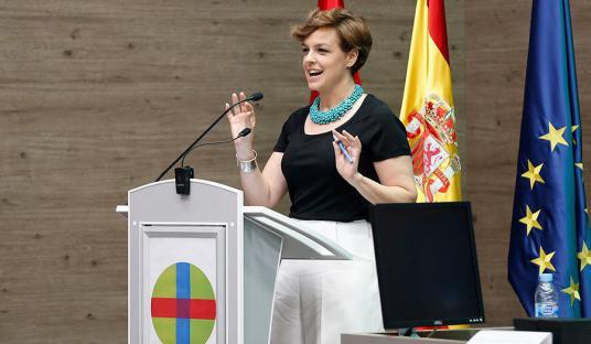Cristina Villanueva, madrina de los Masters de la Escuela de Unidad Editorial-Universidad CEU-San Pablo 16/17